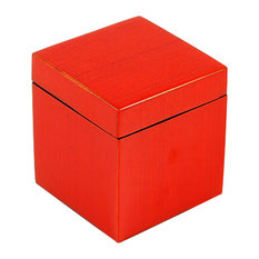 Red Tulipwood Lacquer Canister