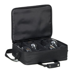 Ultimate Bring Your Own Glasses Wine Glass Carrying Bag Ravenscroft