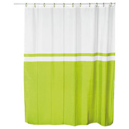 Best Transitional Shower Curtains Shower Curtain Velvet Effect Fabric Polyester Bicolor