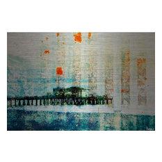 """Parvez Taj Art Print On Brushed Aluminum, 24""""x36"""""""