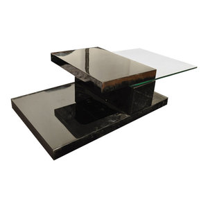 Beverly Hills Furniture Swing Hi Gloss Coffee Table With