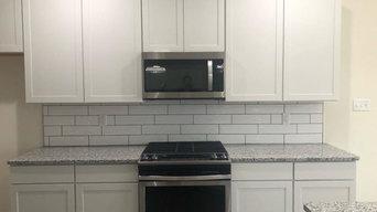 White Kitchen - Subway Tile