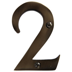 Contemporary House Numbers by RCH Supply Co