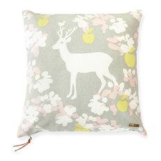 Apple Garden Cushion Cover, Grey