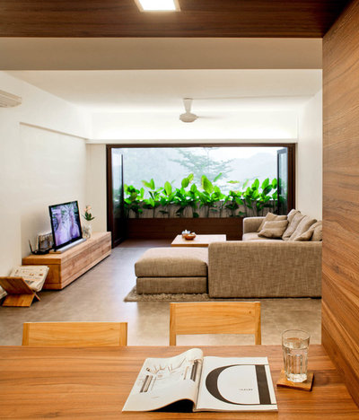Contemporary Living Room by The Design Abode