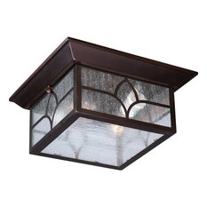 Nuvo 2-Light Incandescent Claret Bronze Stanton Outdoor Light Fixture