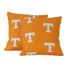 "Tennessee Volunteers 16""x16"" Decorative Pillow, Includes 2 Decorative Pillows"