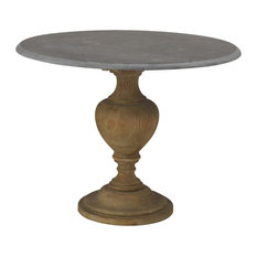 Most Popular Concrete Round Dining Room Tables For Houzz - Concrete pedestal dining table
