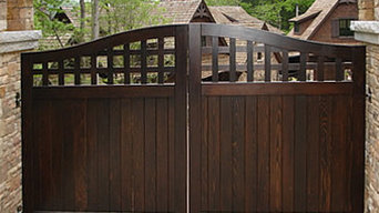 Portland Collection Wood Driveway Gate