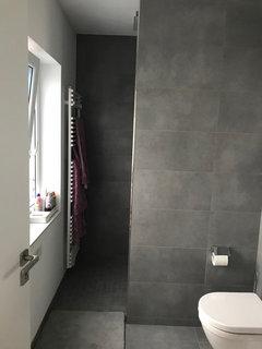 Duschabtrennung gemauert oder aus Glas