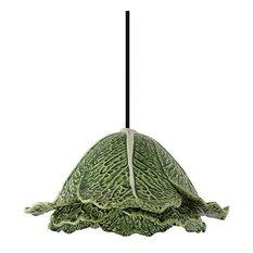 Bordallo Pinheiro Cabbage Ceramic Pendant Light