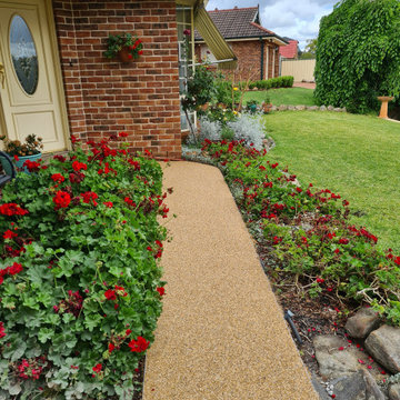Traditional Stone Pathway