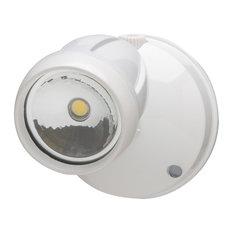 Heath Zenith HZ-8487 LED Single Head Automatic Dusk to Dawn - White