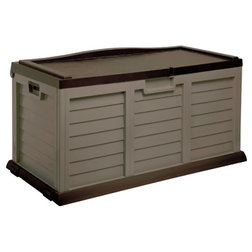Traditional Deck Boxes And Storage by STARPLAST