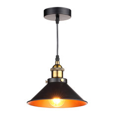 50 most popular pendant lights for 2018 houzz brikk jupiter industrial pendant light black and brass pendant lighting aloadofball Image collections