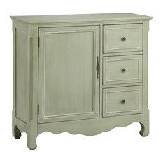 Stein World Chesapeake Accent Cabinet Caden Gray Cream 28292