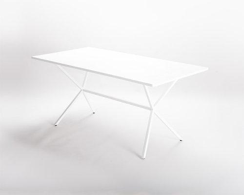 Loft Matbord 160x80cm, Vit - Spiseborde