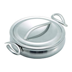 """Cookserv With Lid Collection, Try Me 8"""" Sauté Pan"""