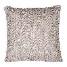 Bonnie Herringbone Cushion Cover, Beige