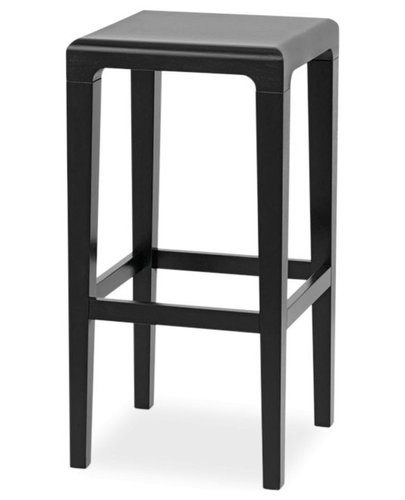 black rioja kitchen stool by lounge design group for ton bar stools and counter stools