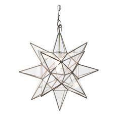 Clear Star Chandelier, Xlarge