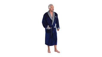 Alp Bamboo Cotton Dressing Gown for Men