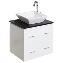 Simple Modern Bathroom Vanities And Sink Consoles by Posh House