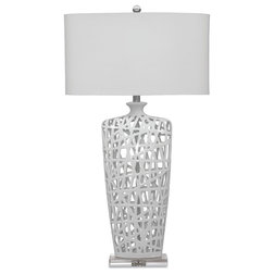 Spectacular Contemporary Table Lamps by BASSETT MIRROR CO