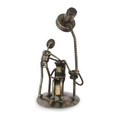 Rustic Root Canal Auto Part Statuette