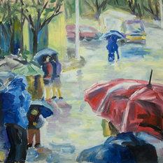 """Картина """"Новгород (дождь)""""   : Никита Павлов"""