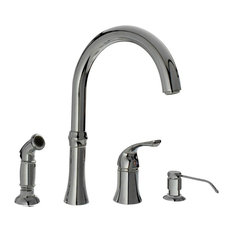 Medium image of mr direct sinks and faucets   710 4 hole kitchen faucet chrome   kitchen