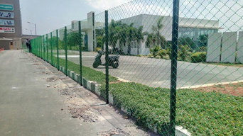 Chain Link Fencing at Prozone mall, Coimbatore