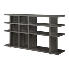 Coaster Contemporary Weathered Gray Bookcase/Console