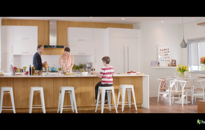 Inside Houzz: Check Out Our 'From Dream to Home' TV Kitchen Spot