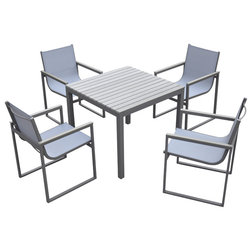 Contemporary Outdoor Dining Sets by Armen Living