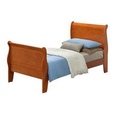 Selva Bed, Oak, Twin