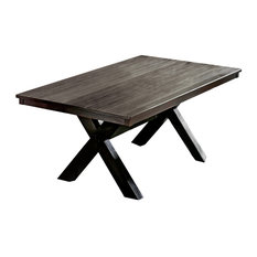 Dining Table, Brushed Black