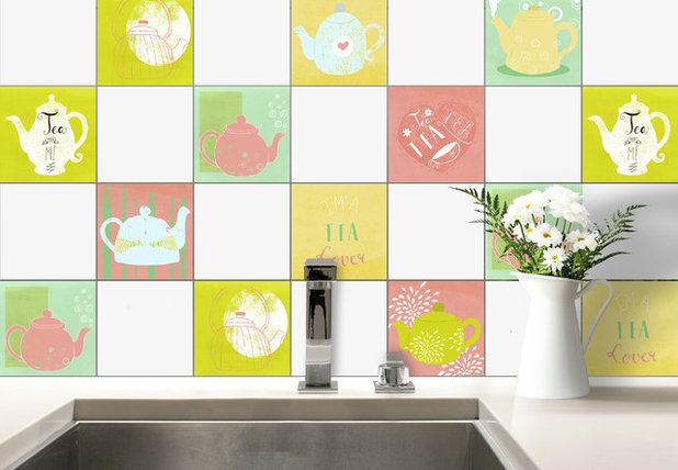 Contemporary Tile Murals by K&L Wall Art