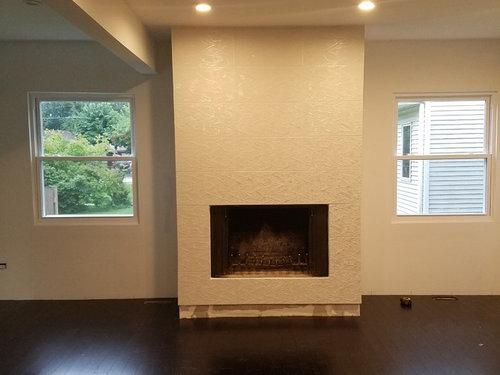 Floor In Front Of Fireplace