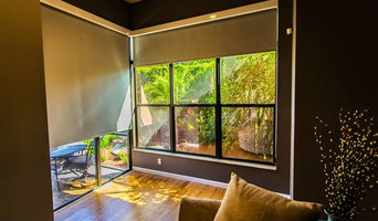 Kolor Shades LLC Roller Shades Screen 10% and Roller Shades Black Out