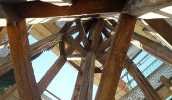 Refection couverture d'une tour en ardoise gironnée