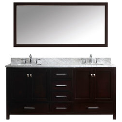 Lovely Contemporary Bathroom Vanities And Sink Consoles by Virtu Usa Inc