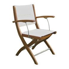 International Caravan Royal Tahiti Set of 2 Patio Chair in Natural