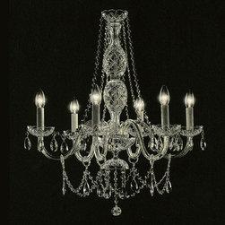 Victorian 6 Lights Chandelier - Chandeliers