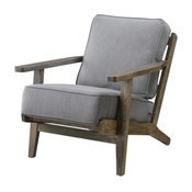 Picket House Furnishings Mercer Accent Chair in Slate