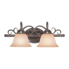 Craftmade 22002-FM Sheridan 2 Light Vanity In Forged Metal