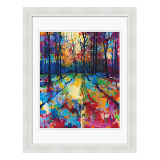 """Mile End Woods"" Framed Print by Doug Eaton, 70x90 cm"