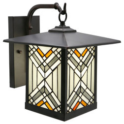 Craftsman Outdoor Wall Lights And Sconces by River of Goods