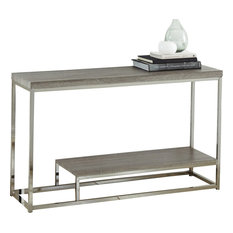 Lucia Sofa Table With Black Nickel