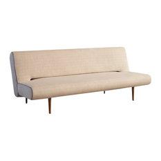 modern sleeper sofa. Innovation Living - Unfurl Sofa, Heavy Natch Natural Sleeper Sofas Modern Sleeper Sofa